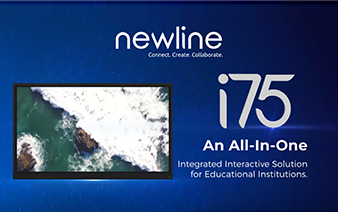Newline's I75 – Revolutionize the smart classroom setup in India